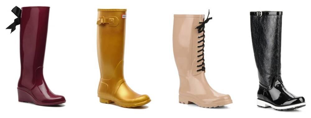 botas agua color